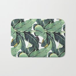The Golden Girls Blanche Devereaux Banana Leaves Tapestry Bath Mat