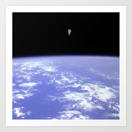 """Space Walk"" Art Print"