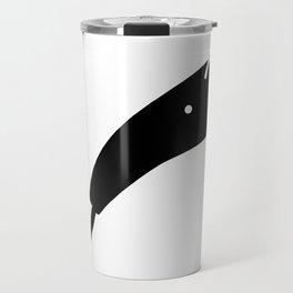 Anteater Face Silhouette Travel Mug