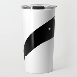 Anteater Face Silhouette Travel Mug