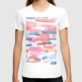 180527 Abstract Watercolour 5 | Watercolor Brush Strokes T-shirt