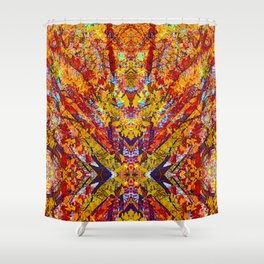 Carnival of Leaves Shower Curtain