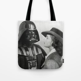 Darth Vader in Casablanca Tote Bag
