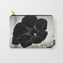 Black Velvet Carry-All Pouch
