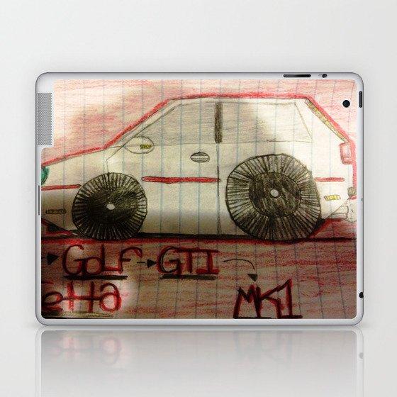 Gti Mk1 Laptop & iPad Skin