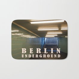 Tube Station - Fehrbelliner Platz - BERLIN UNDERGROUND Bath Mat