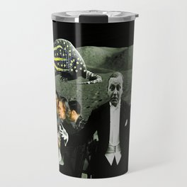 Rudy and Esther ascend to the mother ship Travel Mug