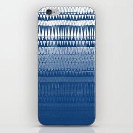 Navy Ombre III iPhone Skin