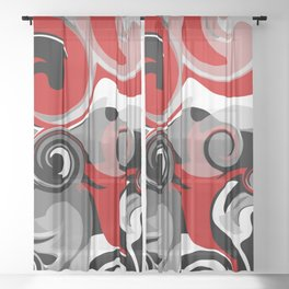 Turbulence Sheer Curtain