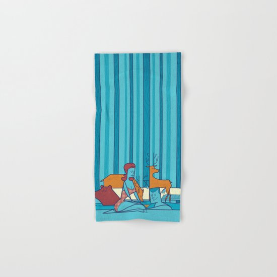 Swimming Pool Hand & Bath Towel
