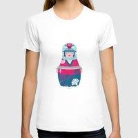 geisha T-shirts featuring Geisha by Piktorama