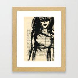 society girls Framed Art Print