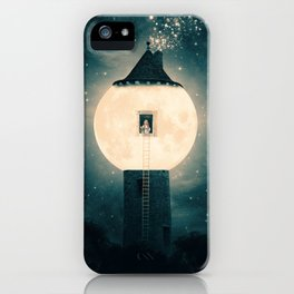 The Moon Tower iPhone Case