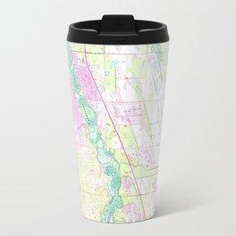 Vintage Map of Port St Lucie Florida (1948) Travel Mug