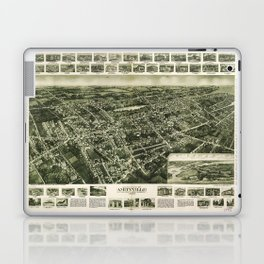 Aerial View of Amityville, New York (1925) Laptop & iPad Skin