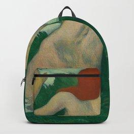 In The Waves Dans Les Vagues Paul Gauguin  Backpack
