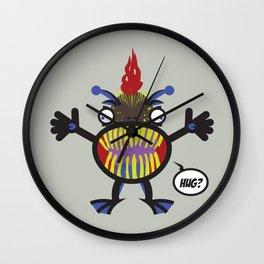 Hug - Every creature needs love #002 Wall Clock
