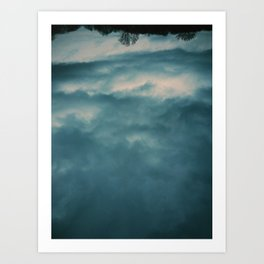 I was looking for heaven Art Print