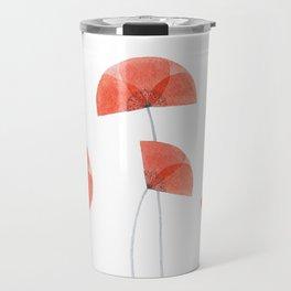 Flanders poppy, corn poppy, flower Travel Mug