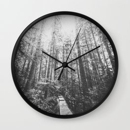 INTO THE WILD II Wall Clock