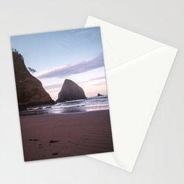 Oregon Coast Sunrise and Sea Stacks | Travel Photography Stationery Cards