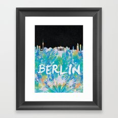 Berlin (Feat. Filipe Rolim) Framed Art Print