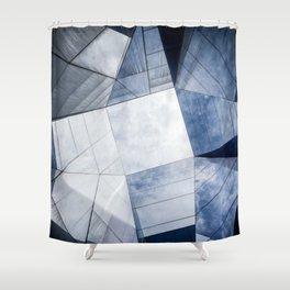 Atoms Shower Curtain
