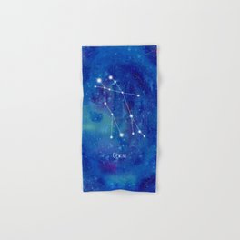 Constellation Gemini Hand & Bath Towel