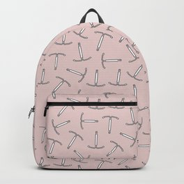 IUD Contraception, Uterus Strong in Pink Backpack