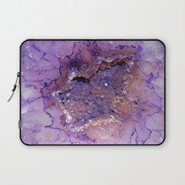 Amethyst Geode Laptop Sleeve