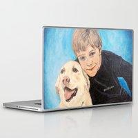 best friends Laptop & iPad Skins featuring Best Friends by gretzky