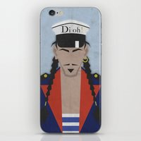 john mayer iPhone & iPod Skins featuring John by B_U_R_T