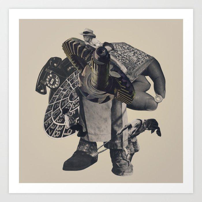 Do The Sprawl Art Print