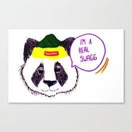 Panda rules Canvas Print