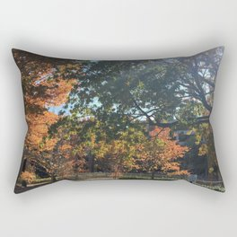 A Fall Day Somewhere in Ohio Rectangular Pillow