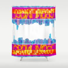 Grow More | Project L0̷SS   Shower Curtain