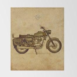 Ducati motorcycle Meccanica Throw Blanket
