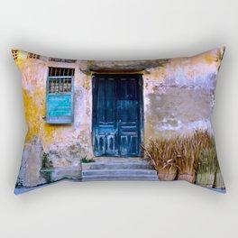 Chinese Facade of Hoi An in Vietnam Rectangular Pillow