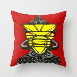 The Voice That I Have Made Throw Pillow