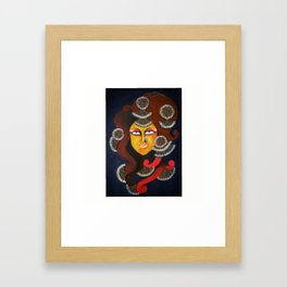 The Diva Framed Art Print