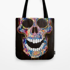 Chromatic Skull 02 Tote Bag