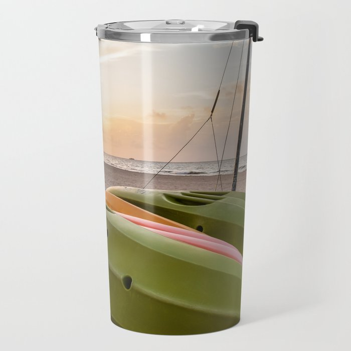 Peaceful Mornings Travel Mug