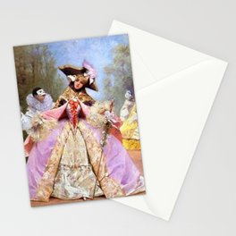 Victorian Masquerade Ball Stationery Cards