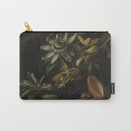 Still Life with Passionflowers - Elias van den Broeck (1670 - 1708) Carry-All Pouch