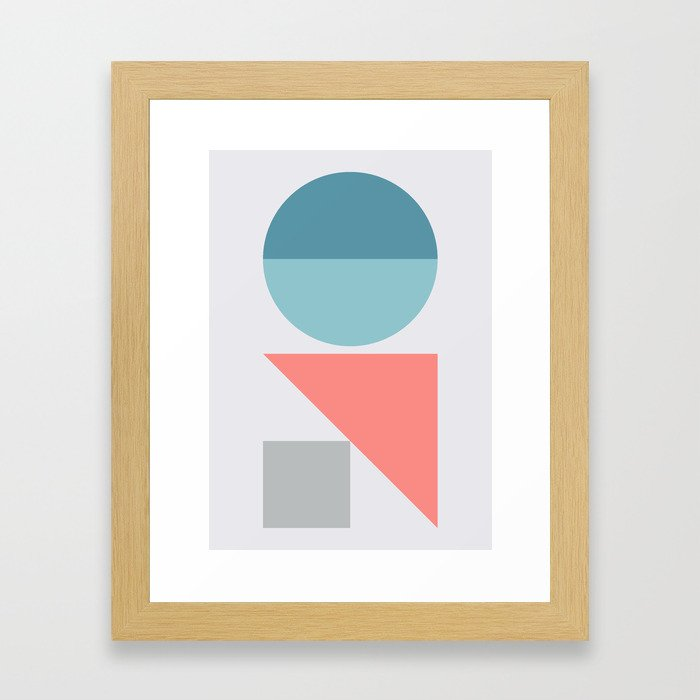 Geometric Form No.3 Framed Art Print