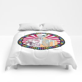 Psychedelic Anatomy Comforters