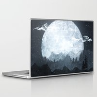 moonrise Laptop & iPad Skins featuring Moonrise by Tracie Andrews