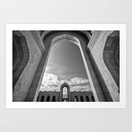 Sultan Qaboos Grand Mosque (Muscat, Oman) Art Print