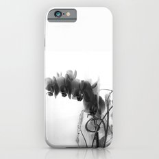 Flowers in black Slim Case iPhone 6s