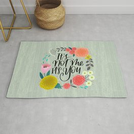 Pretty Swe*ry 2.0: It's Not Me, It's You Rug